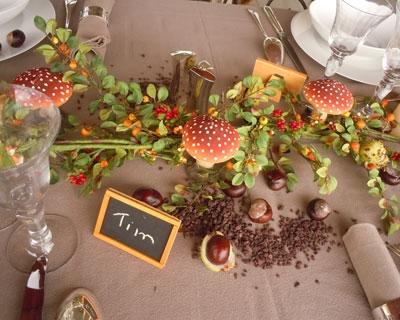 Automne - Centre de table automne ...