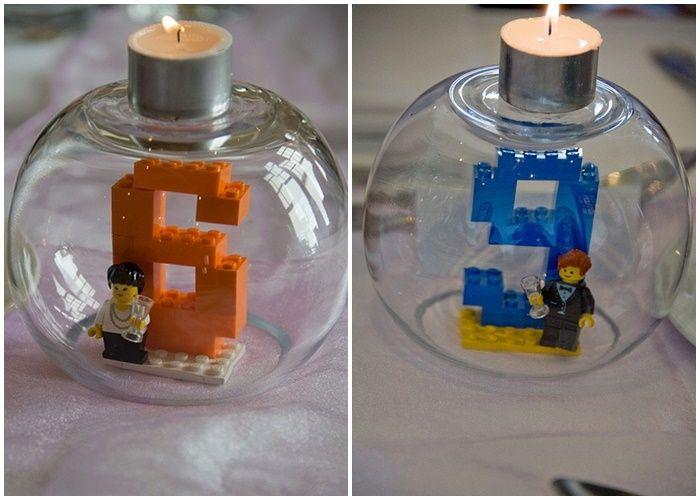 Centres de tables LEGO 6