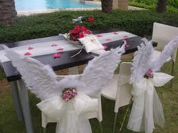 Mariage thème anges - Décoration - Forum Mariages.net
