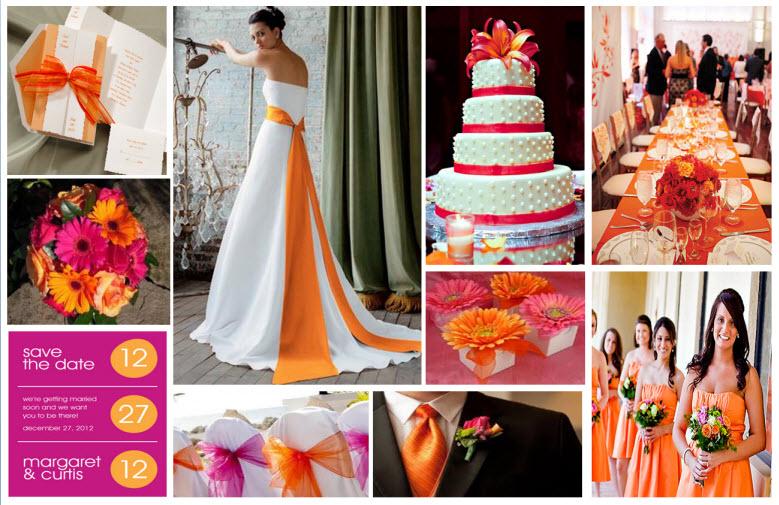 source : http://www.kit-mariage.fr/decoration-mariage-orange/