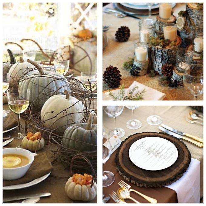 ... les idees decoration 498 inspiration deco pour un mariage d automne