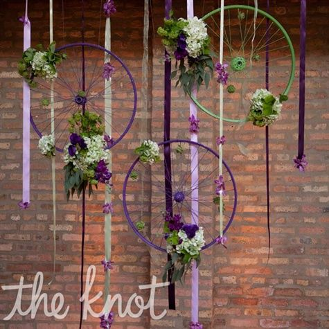 V lo r tro comme th me de mariage sofie 39 s events for Velo decoration