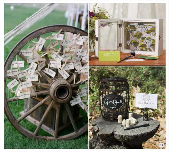 decoration_mariage_western-country-chic-equitation-livre_dor_roue_charrue_coffret_en_bois_grillage_tonneau_1