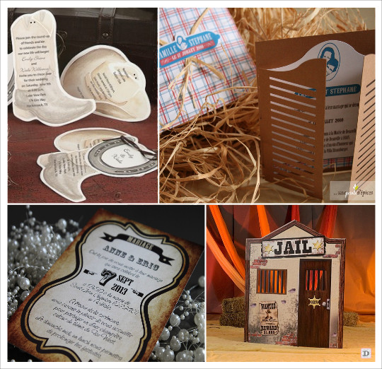 decoration_mariage_western_country_equitation_faire_part_botte_chapeau_porte_salloon_prison