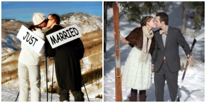mariage-montagne-ski-neige-couple